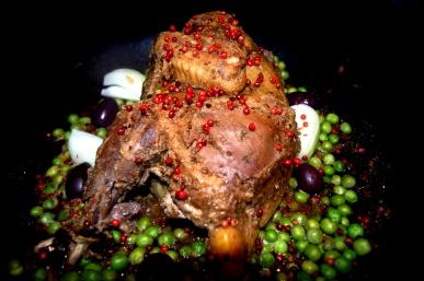 galinha de angola na panela