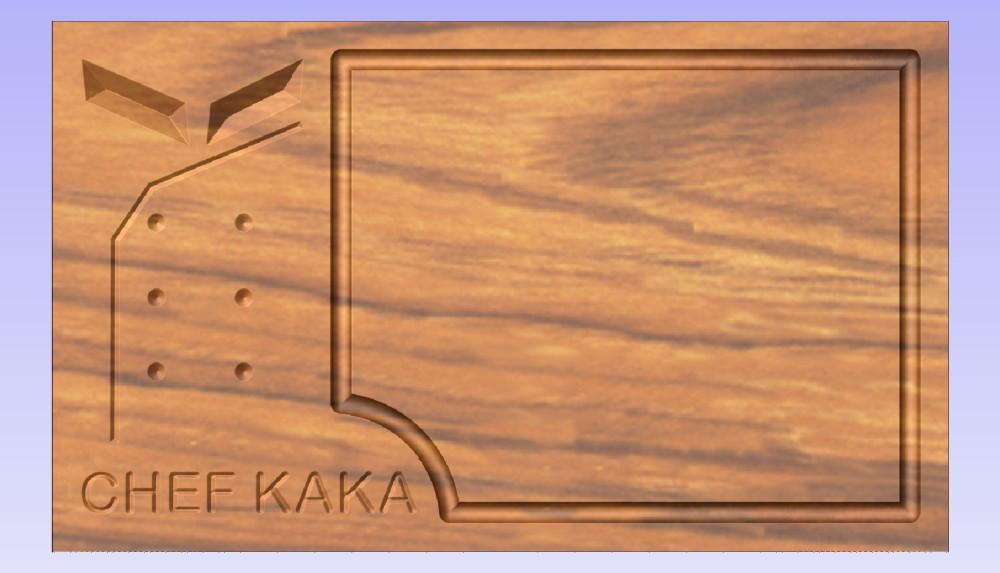 Tabua CHEF KAKA2 - frontal